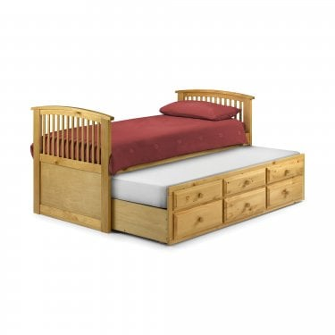 Hornblower Antique Pine Single Cabin Bed