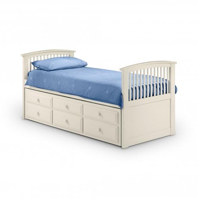 Hornblower Single (3'0'') Cabin Bed, Stone White