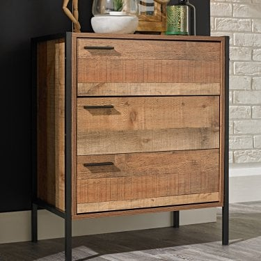 Hoxton 3 Drawer Chest