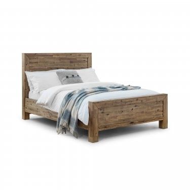 Hoxton Rustic Oak Double Bed