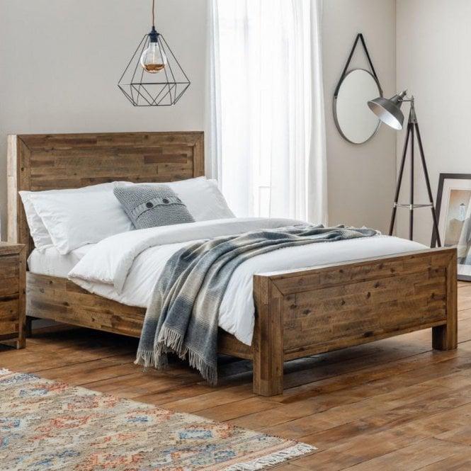 Hoxton Superking (6'0'') Bed, Rustic Oak Effect