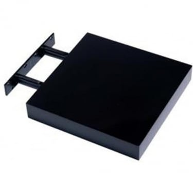 Hudson Gloss Foiled Black 240x240mm Shelf Kit