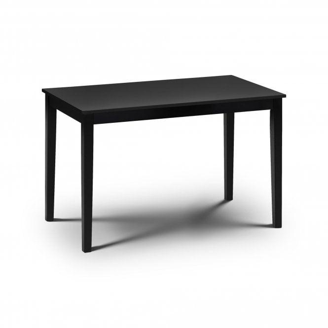 Hudson Rectangular Dining Table, Black