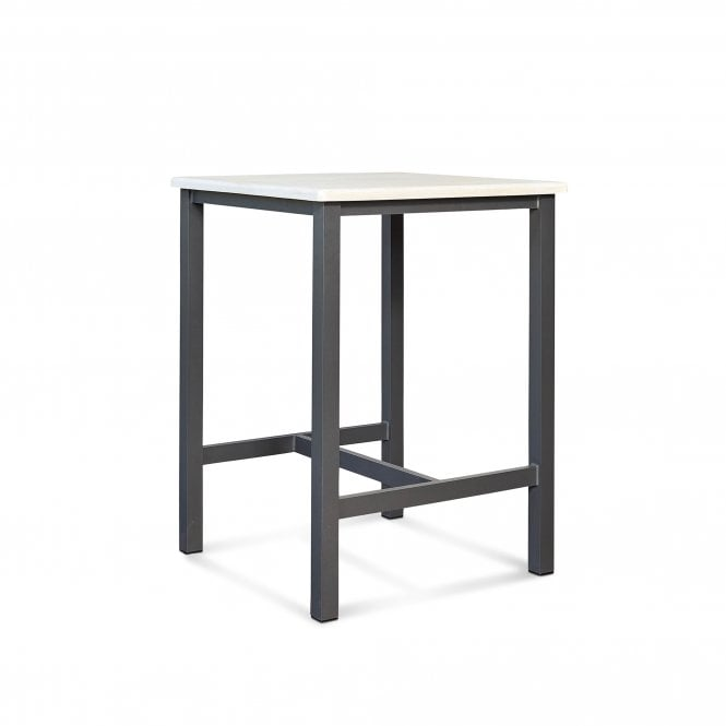 Ibiza Outdoor Square Bar Table, Aniseed
