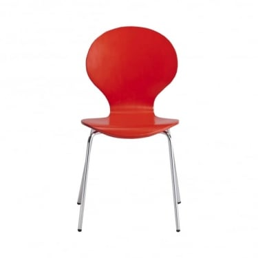 Ibiza Red Dining Chair 4-Pack