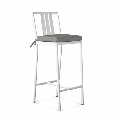 Ibiza White Bar Stool