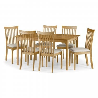 Ibsen Dining Set Of 6, Oak