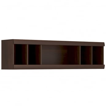 Furniture To Go Imperial Dark Mahogany Shelving Unit