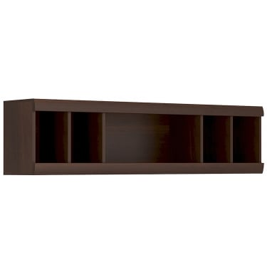 Imperial Dark Mahogany Shelving Unit