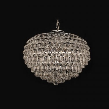 Impex Lighting Adaliz Chrome 6Lt Indoor Pendant Light (CF311201/06/CH)