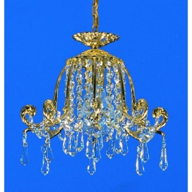Impex Lighting Bell Shaped 1 Light Strass Pendant Light