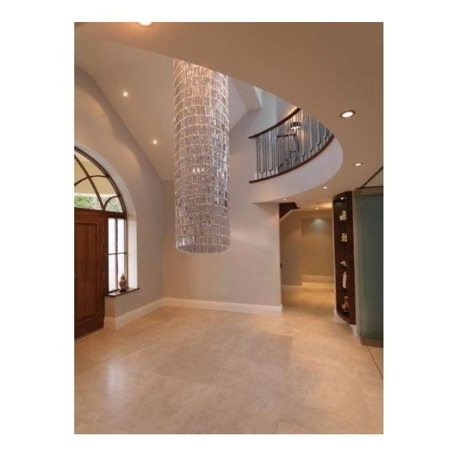 impex crystal art 3 lt led crystal chandelier 5m drop down. Black Bedroom Furniture Sets. Home Design Ideas