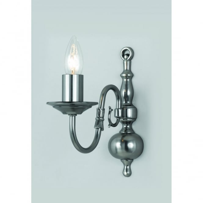 Lighting Shop Sale Cheshire: Impex Flemish 1 Light Wall Light At Leader Stores