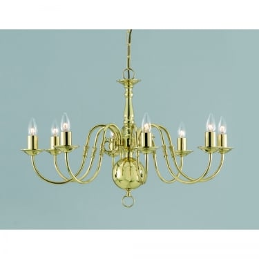 Impex Lighting Flemish 8 Light Chandelier