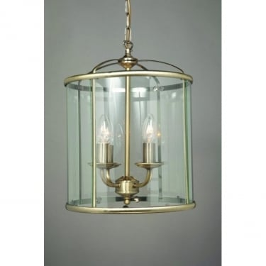 Impex Lighting Orly Antique Brass 4 Lt Lantern