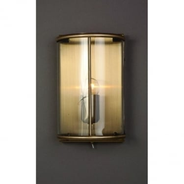 Impex Lighting Orly Antique Brass Wall Light