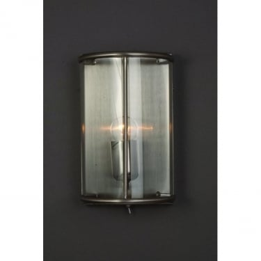 Impex Lighting Orly Satin Nickel Indoor Wall Light (LG77130/WB/SN)