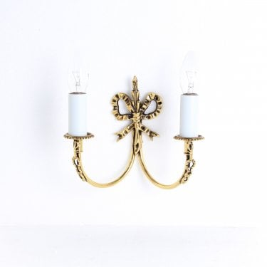 Impex Lighting Richmond 2 Light Polished Brass Wall Light