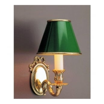 Impex Lighting Sandringham 1 Light Polished Brass Wall Light