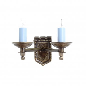 Impex Lighting Tudor 2 Lt Light Bronze Wall Light