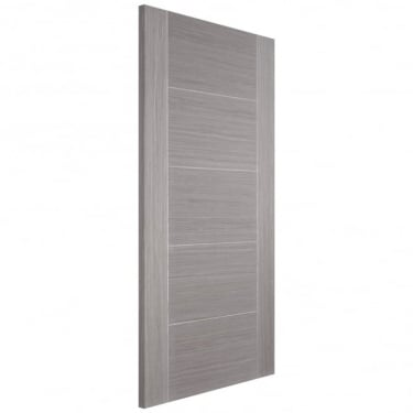 LPD Doors Internal Light Grey Fully Finished Vancouver 5P 44mm Fire Door
