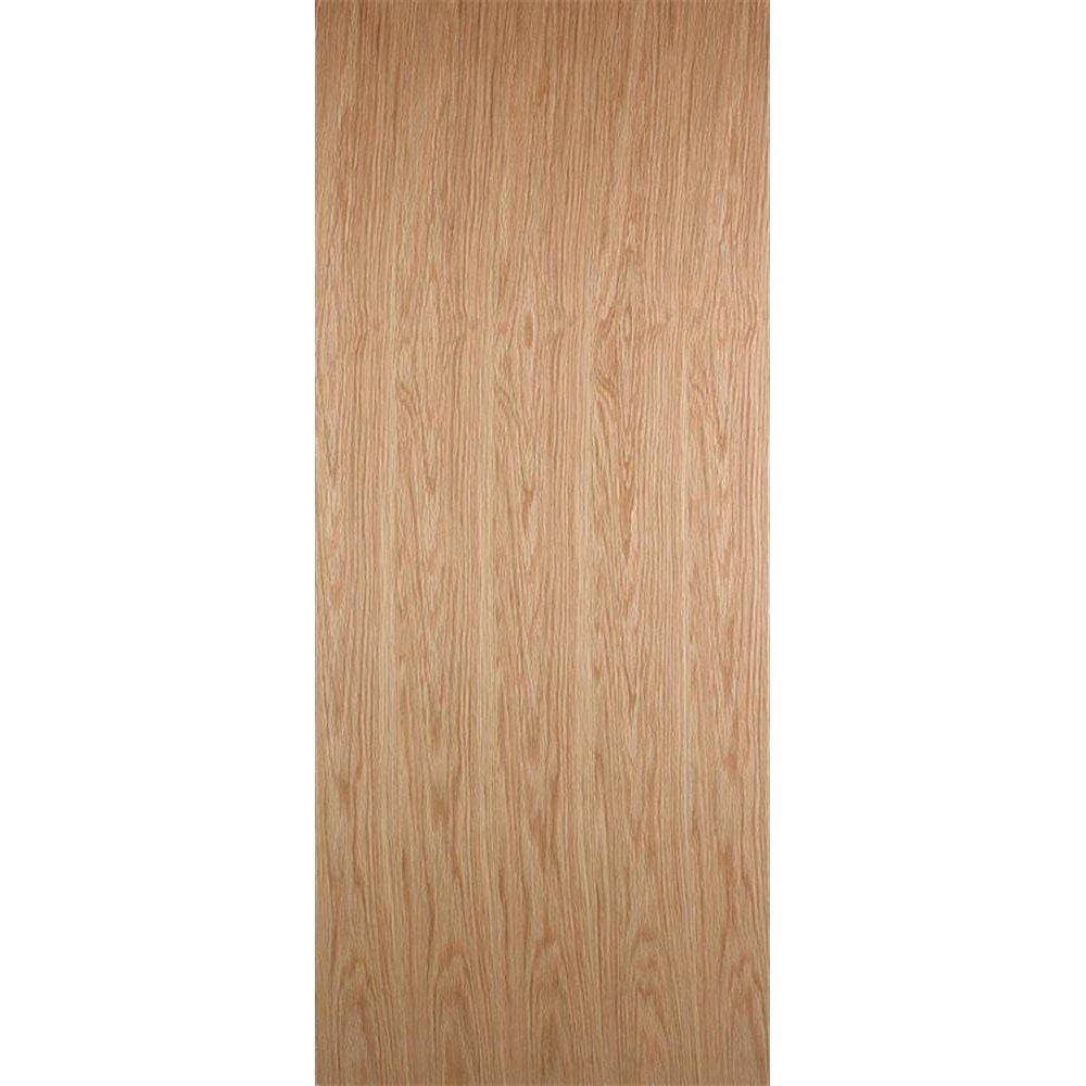 Wooddoor Internal Pre Finished White Oak Flush Door Leader Stores