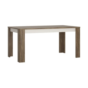 Irving Extending Dining Table, Stirling Oak Effect