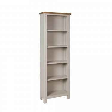 Isabela Large Bookcase, Dove Grey