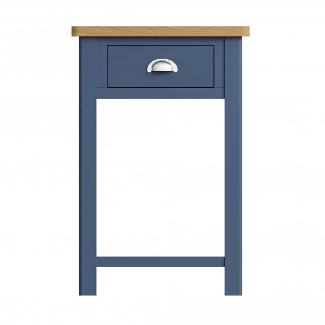 Isabella 1 Drawer Telephone Table, Blue
