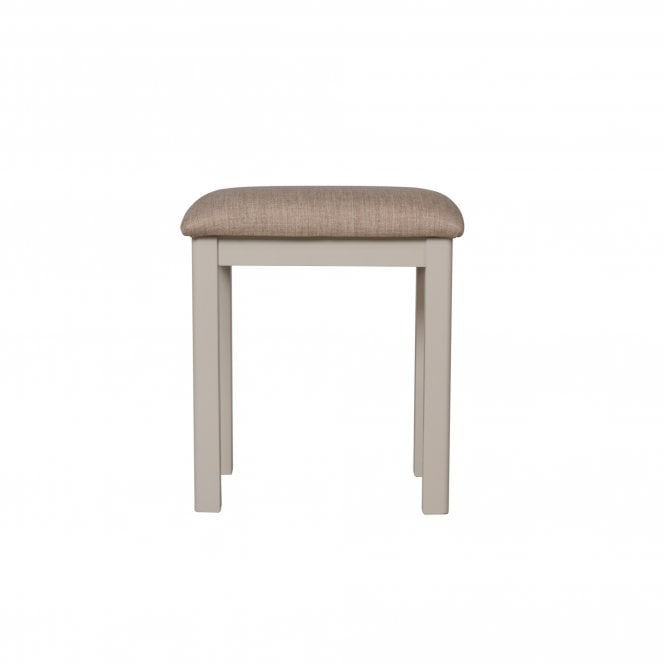 Isabella Dressing Table Stool, Truffle Grey