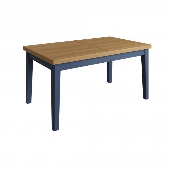 Isabella Rectangular 1.6m Extending Dining Table, Blue
