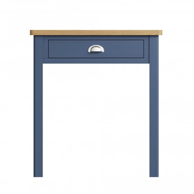 Isabella Rectangular 1 Drawer Dressing Table, Blue