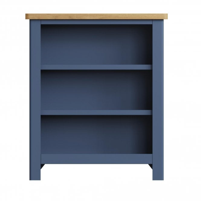 Isabella Wide Small Bookcase, Grey