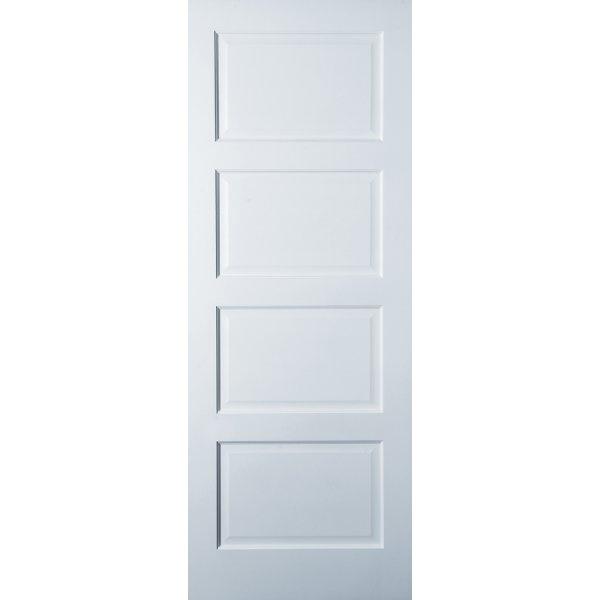 Jeld Wen Avesta Internal White Primed 4 Panel Shaker