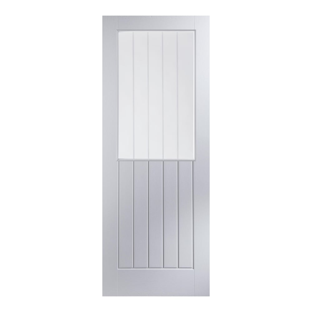 Jeld wen newark white moulded decorative glass internal - White doors with glass internal ...