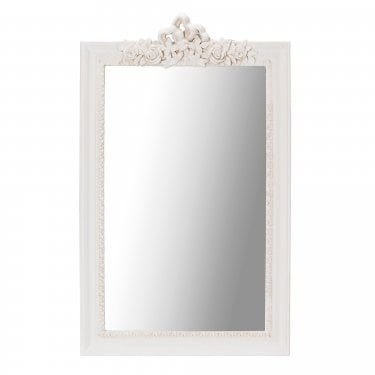 Juliette Soft Cream Wall Mirror