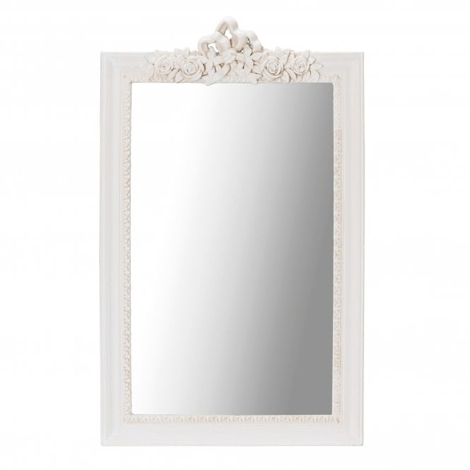 Juliette Wall Mirror, Soft Cream