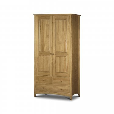 Kendal Antique Pine Combination Wardrobe