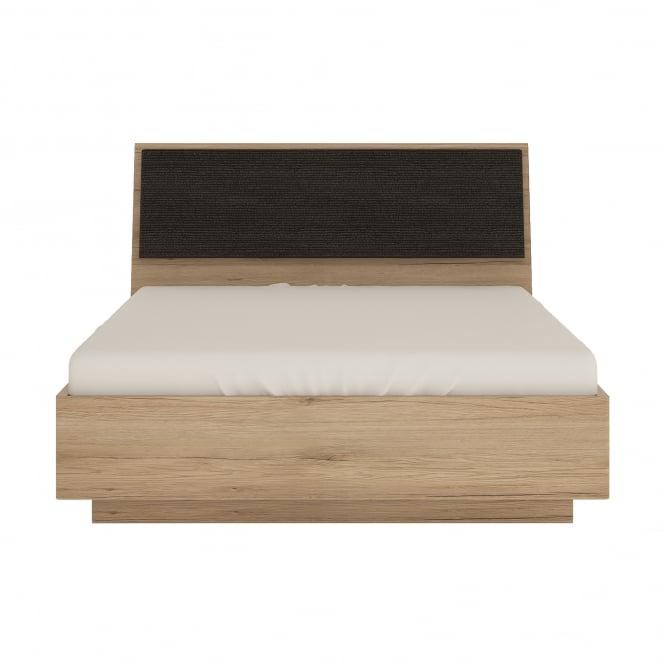 Kensington Double (4'6'') Ottoman Bed, Oak Effect