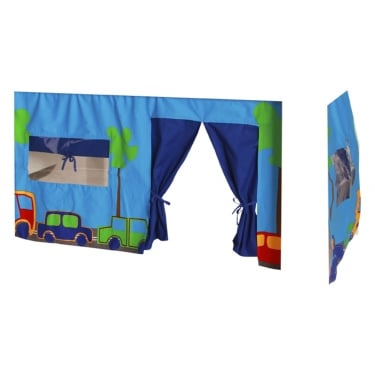 Kids World Print Blue Tent