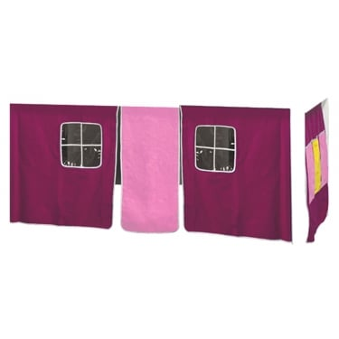 Furniture To Go Kids World Print Pink Tent (1500506)