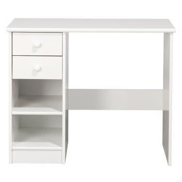 Kids World White 2 Drawer Desk