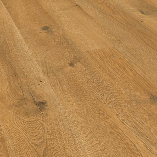 Cottage twin clic loxley oak 7mm flooring at leader stores for Clic laminate flooring