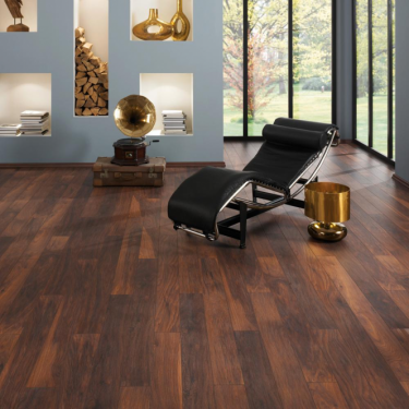 Krono Original Vintage Classic 10mm Red River Hickory 4v Groove Handscraped Laminate Flooring (8156)