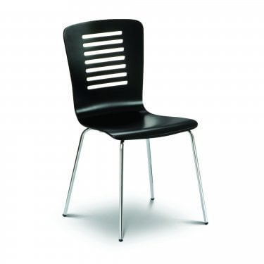 Kudos Black & Chrome Chair
