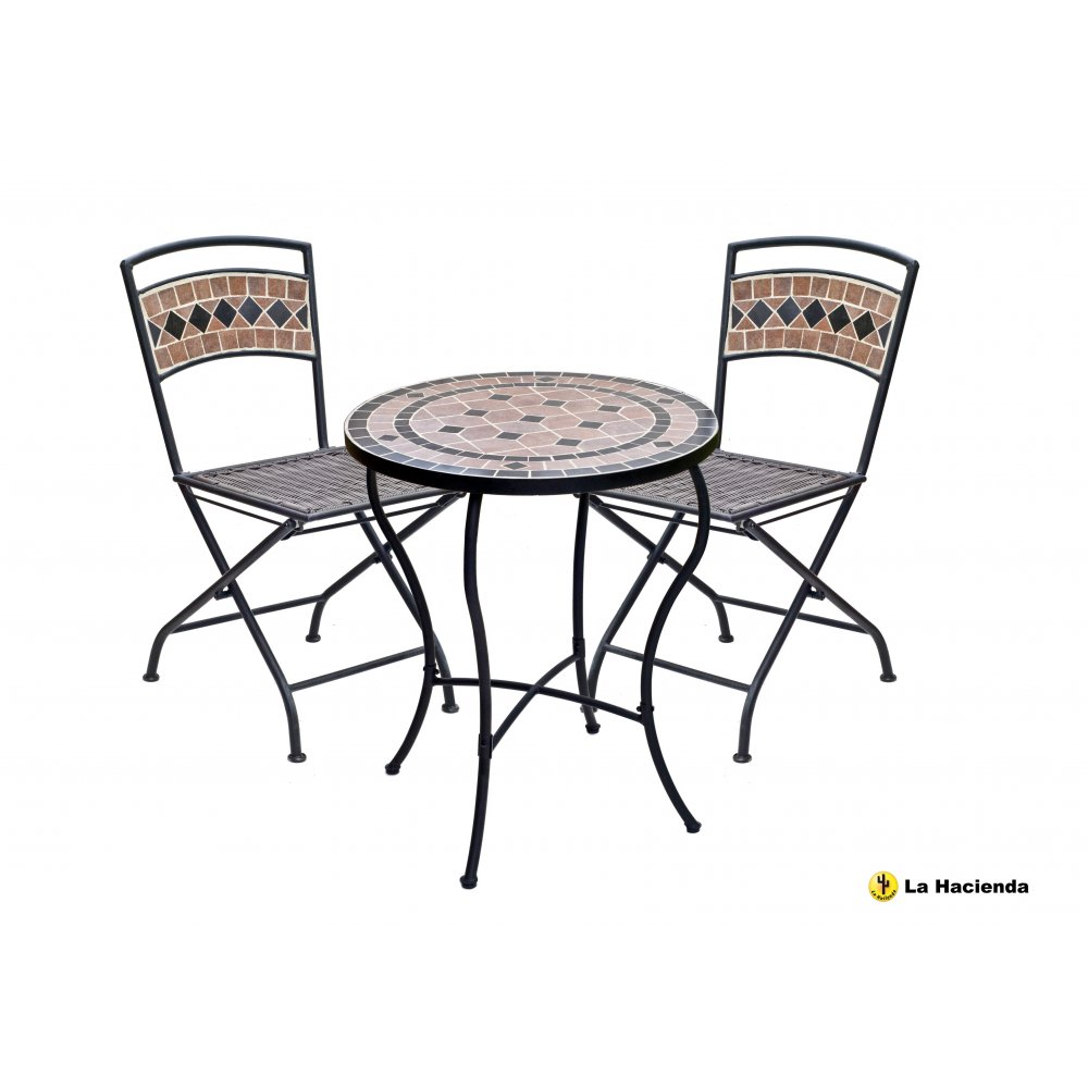 Mosaic Tile Table Kit Tile With Mosaic Bistro Table