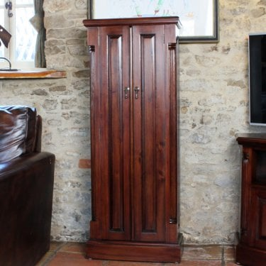 La Roque Mahogany CD/DVD Cupboard