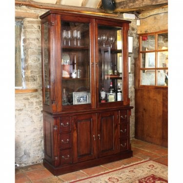 La Roque Mahogany Dresser Top (Hutch Only)