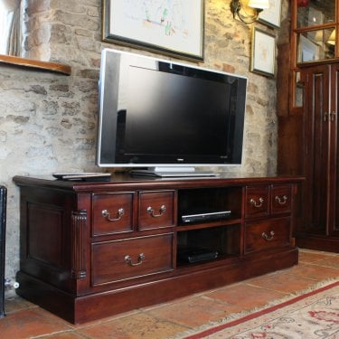 La Roque Mahogany Widescreen TV Unit