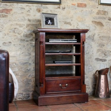 La Roque Natural Mahogany Media Unit